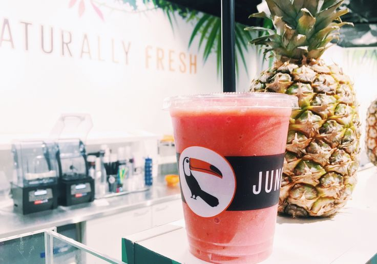 P.S. Never Stop Smiling: Jungle juice bar smoothie