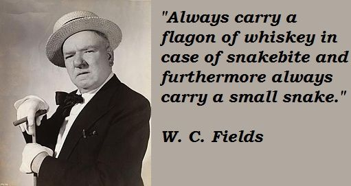 Image result for W. C. Fields quotes