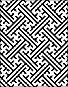simple aztec pattern to draw - Google Search