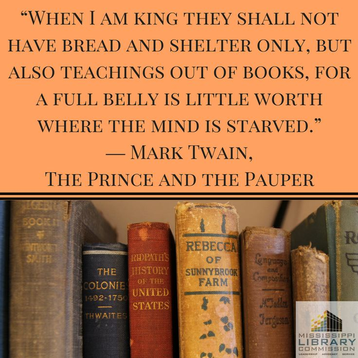 an analysis of mark twains book the prince and the pauper This is a quick book summary of the prince and the pauper by mark twain this is a story about two boys, tom and edward, who switch places they each learn about how it is to live a completely.