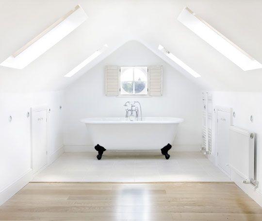 attic tub