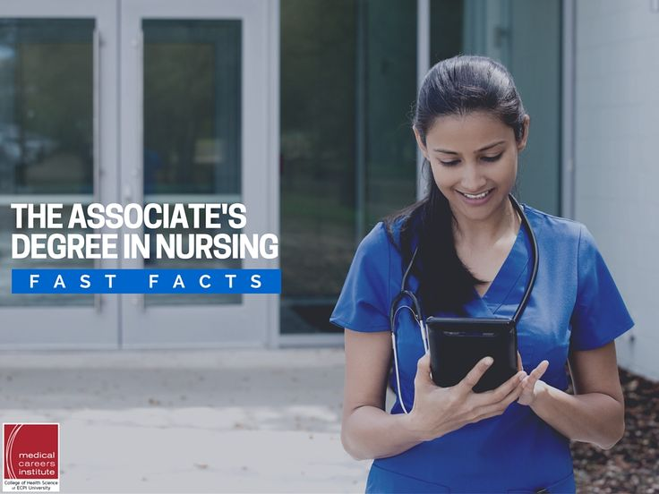 Earning an associate's degree in nursing is a big move