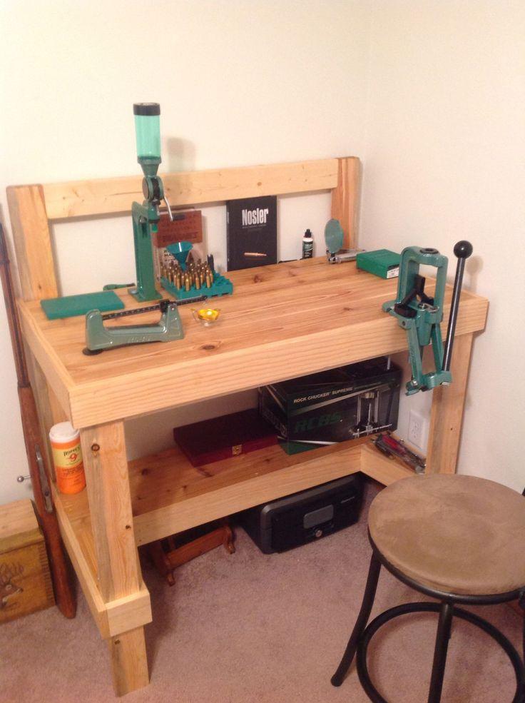diy gun storage bench