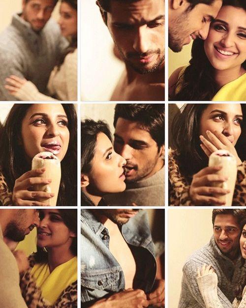 Sidharth and Parineeti ...soooo cute