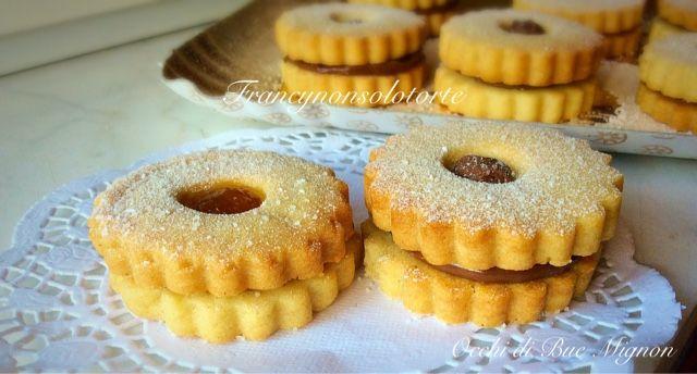 Francy non solo torte: Occhi di Bue Mignon
