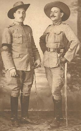 Portuguese Colonial Cavalry Officers
