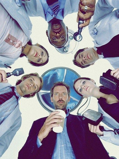 House, Gregory House, Cameron, Wilson, Foreman, Cuddy and Chase. ♥