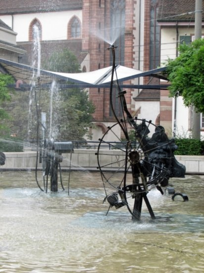 http://www.TravelPod.com - Basel fountains by TravelPod member Travelingdiva, from Basel, Switzerland
