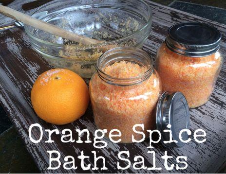 Recipe: Orange Spice Bath Salts. Enjoy! :) #BulkApothecary http://www.bulkapothecary.com/blog/scrub-recipes/recipe-orange-spice-bath-salts/