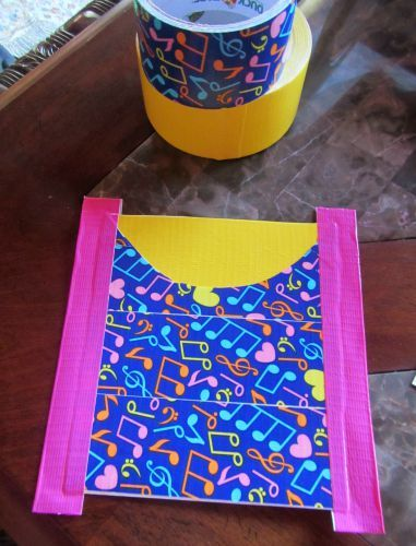 easy duct tape locker craft perfect for back to school #DIY