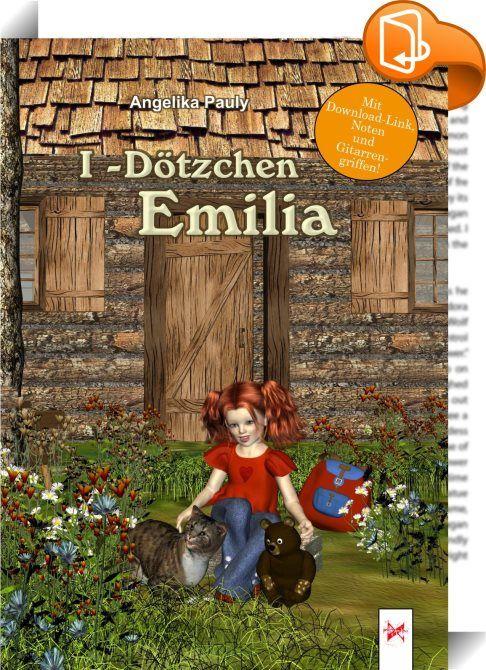 """I-Dötzchen Emilia    :  Mit kostenlosem Downloadlink zu den Liedern von Angelika Pauly! Aus dem Kindergartenkind Emilia ist ein Schulkind geworden. """"Endlich!"""", wie sie sagt. Nun lernt sie fleißig lesen und schreiben. Was passiert, als sie einmal ihr Englischbuch im Garten vergisst, und was es mit der kleinen Hexe und dem Milchreis auf sich hat, erfahrt ihr in diesem zweiten Band der Emilia-Kinderbuchreihe. Aber hütet euch vor dem Sockenmonster, welches durch das Buch huscht! Schaut euc..."""