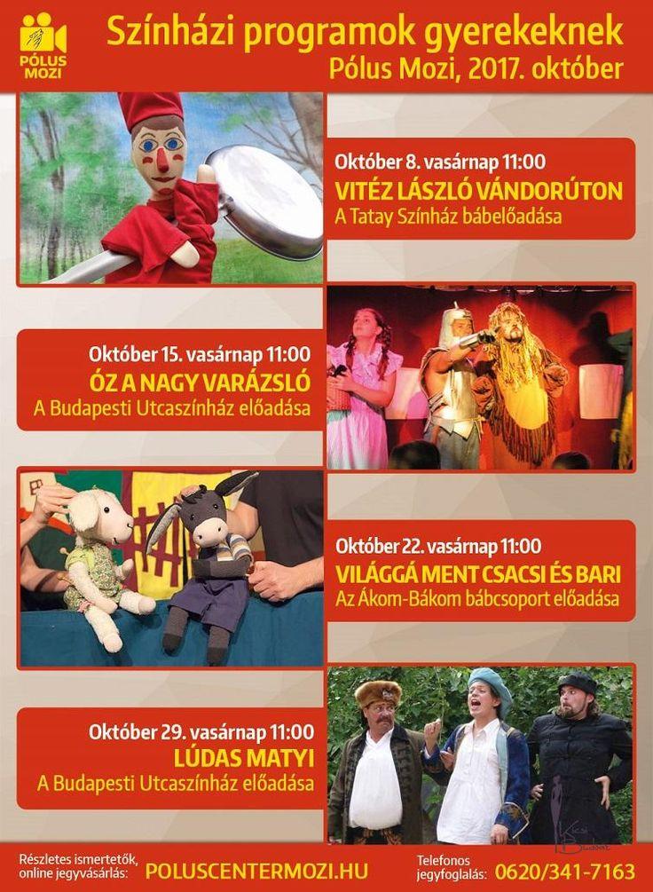 A sorozat novemberi-decemberi programja.