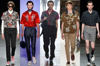 All the big menswear trends you need to know for spring/summer 2016, from Cuban collars to all-grey everything