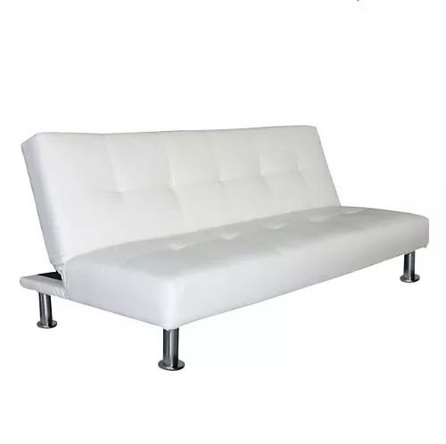 sillon cama futon en ecocuero medida de la cama xcm