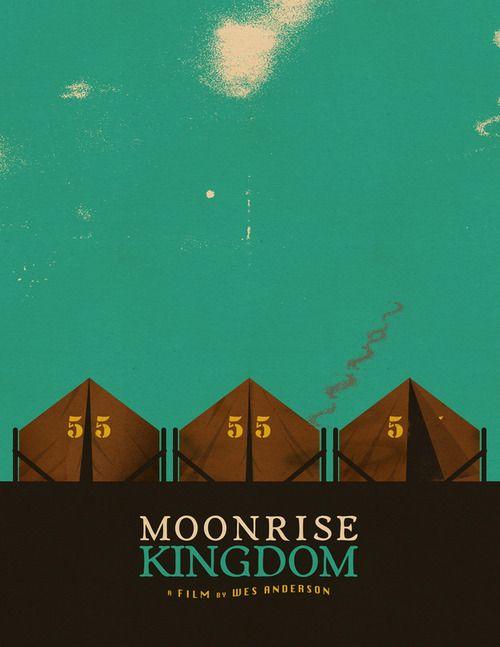 """""""Moonrise Kingdom"""" by Sam Larson.  http://minimalmovieposters.tumblr.com/tagged/moonrise-kingdom"""