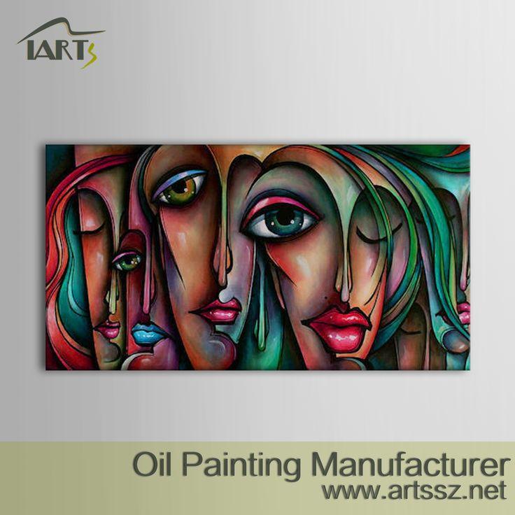 Pittura a olio dipinta a mano originale, Dipinti ad olio in vendita online, Tela arte Fornitore