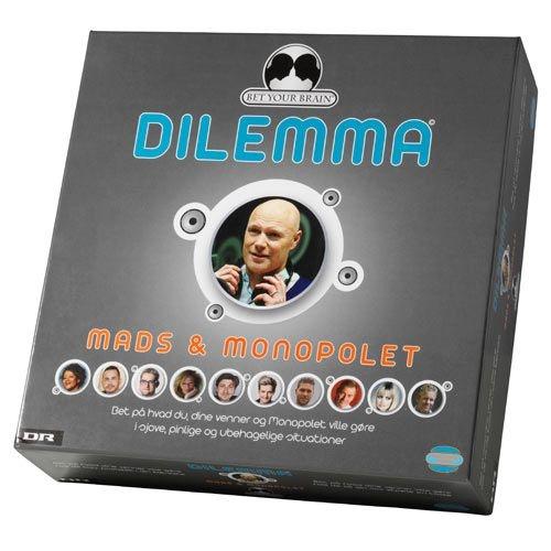 Bet your brain mads & monopolet Dilemma - Spil | Arnold Busck