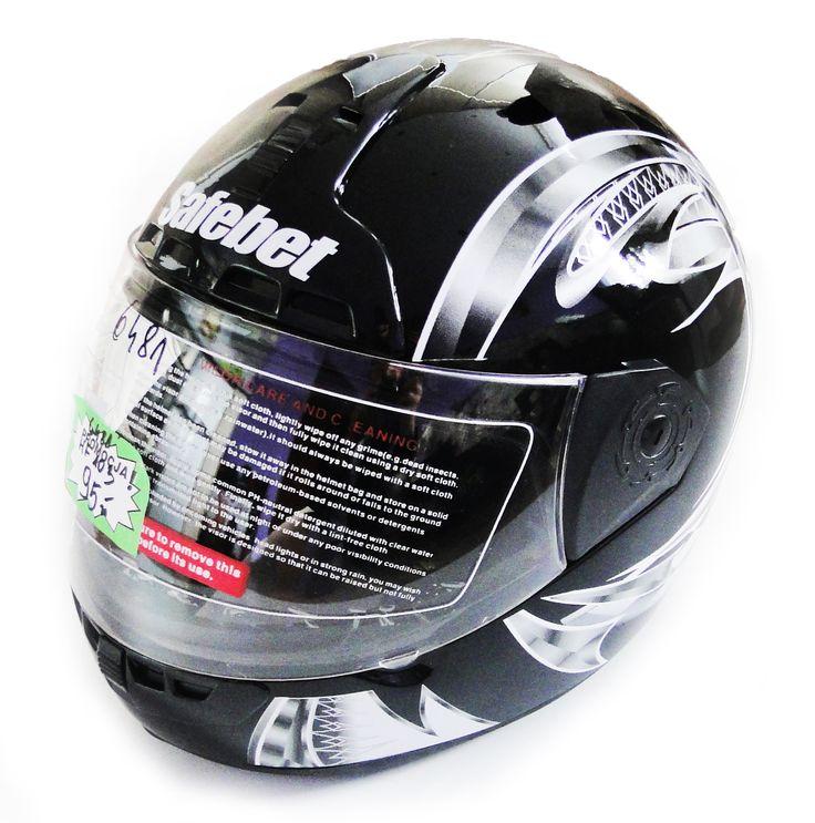 SAFEBET HF103 BLACK Q24 XL PRZÓD MOTOROWEX.PL