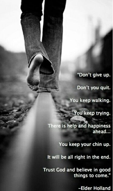 Don't you EVER give up