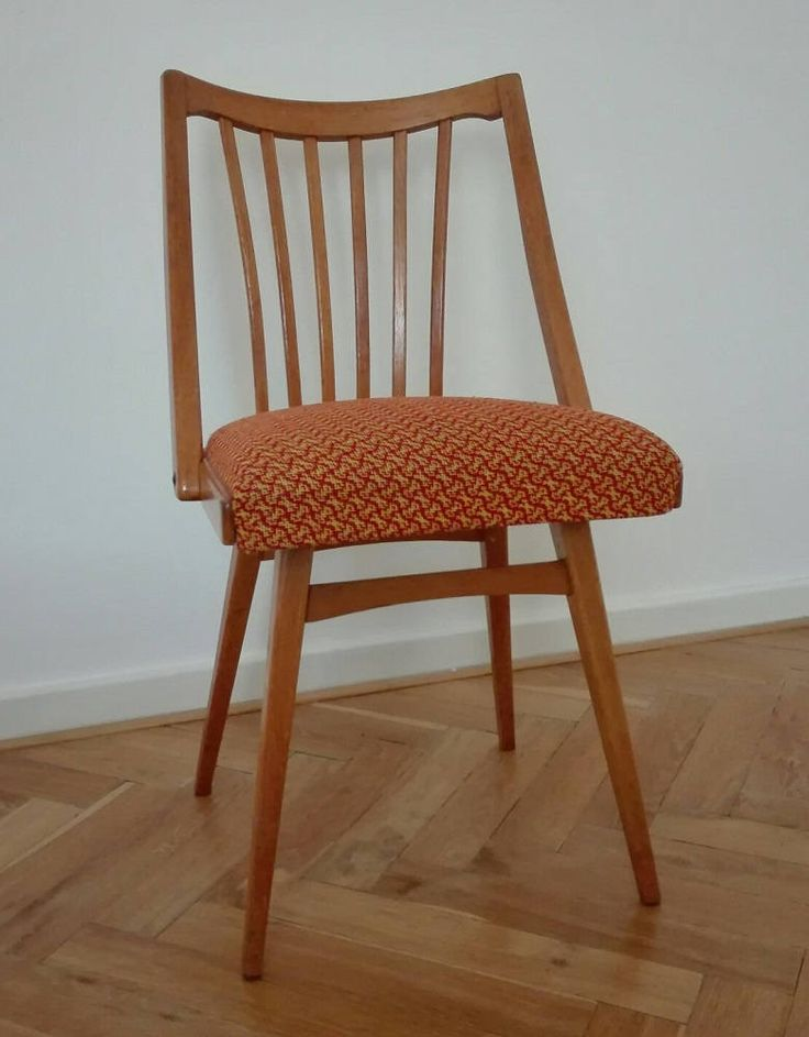 Set of 2/4/6/8 vintage Czechoslovakian chairs. by ClockedIt on Etsy