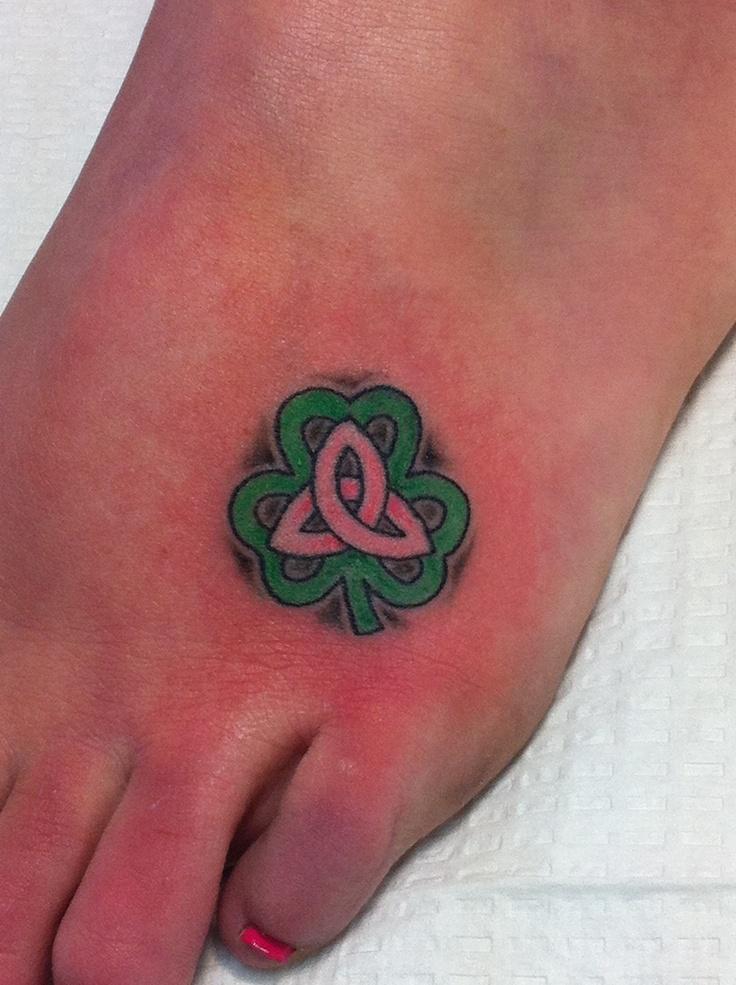 44 best tattoos images on pinterest tattoo ideas tattoo for Shamrock foot tattoo