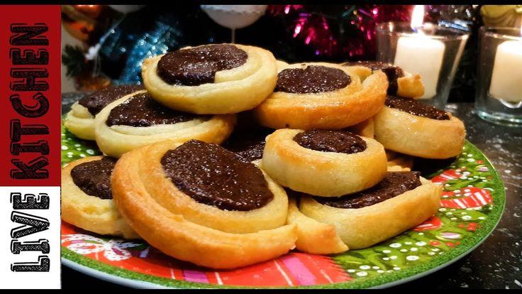 Εύκολα και συγκλονιστικά Ροξάκια - amazing chocolate rolls | Live Kitchen |
