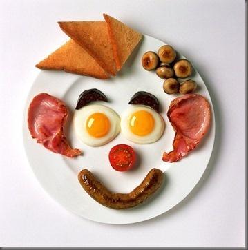 Fun breakfast #foodart