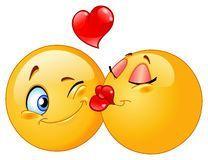 Karikatur Küssender Emoticon - Download von über 40 Million Vorrat-Fotos der hohen Qualität, Bilder, Vectors. Melden Sie sich FREI heute an. Bild: 46948206