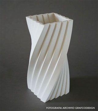 vaso scultura plissè - shop grafcodesign.com from € 250,00