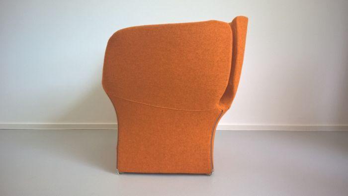 Patricia Urquiola voor Moroso - Bloomy Poltroncina fauteuil oranje ...