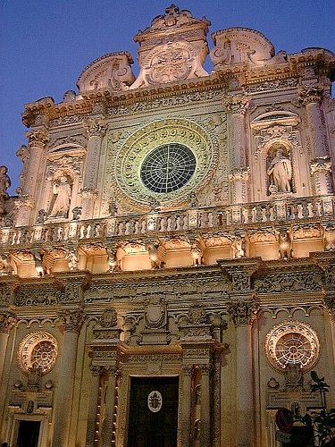 Basilica Santa Croce - Lecce - Italy