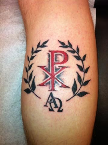 35 best chi rho tattoo designs calf images on pinterest chi rho tattoo tattoo ideas and christian. Black Bedroom Furniture Sets. Home Design Ideas