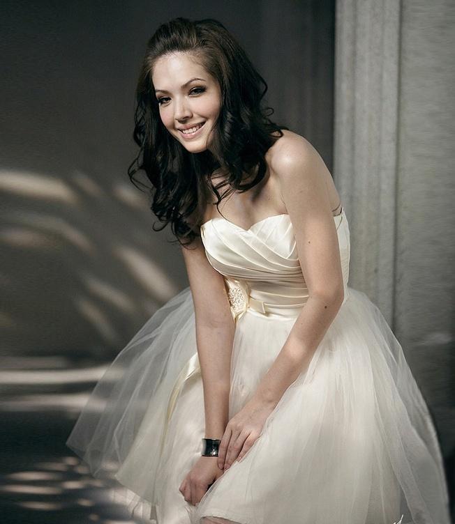 Top dress new bridesmaid dress short bandage mini dress bridesmaid dress bride toast clothing-ZZKKO