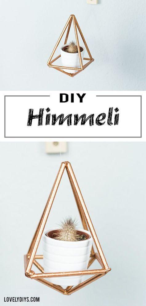 DIY Himmeli DIY – beautiful, geometric DIY decoration idea