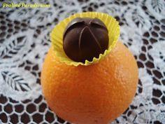 Praliné Paradicsom: Narancskrémes praliné