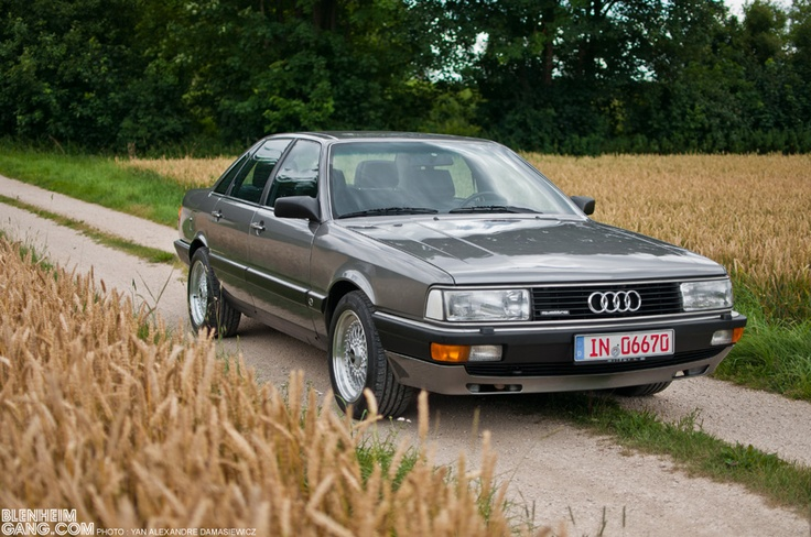 """Very rare Audi 200 turbo quattro exclusive. James Bond has this car at the movie """"Living daylights"""""""