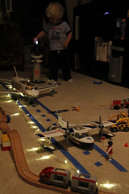 """Lovely airport play by 'play lukas 009' - love the addition of the lights ("""",)"""