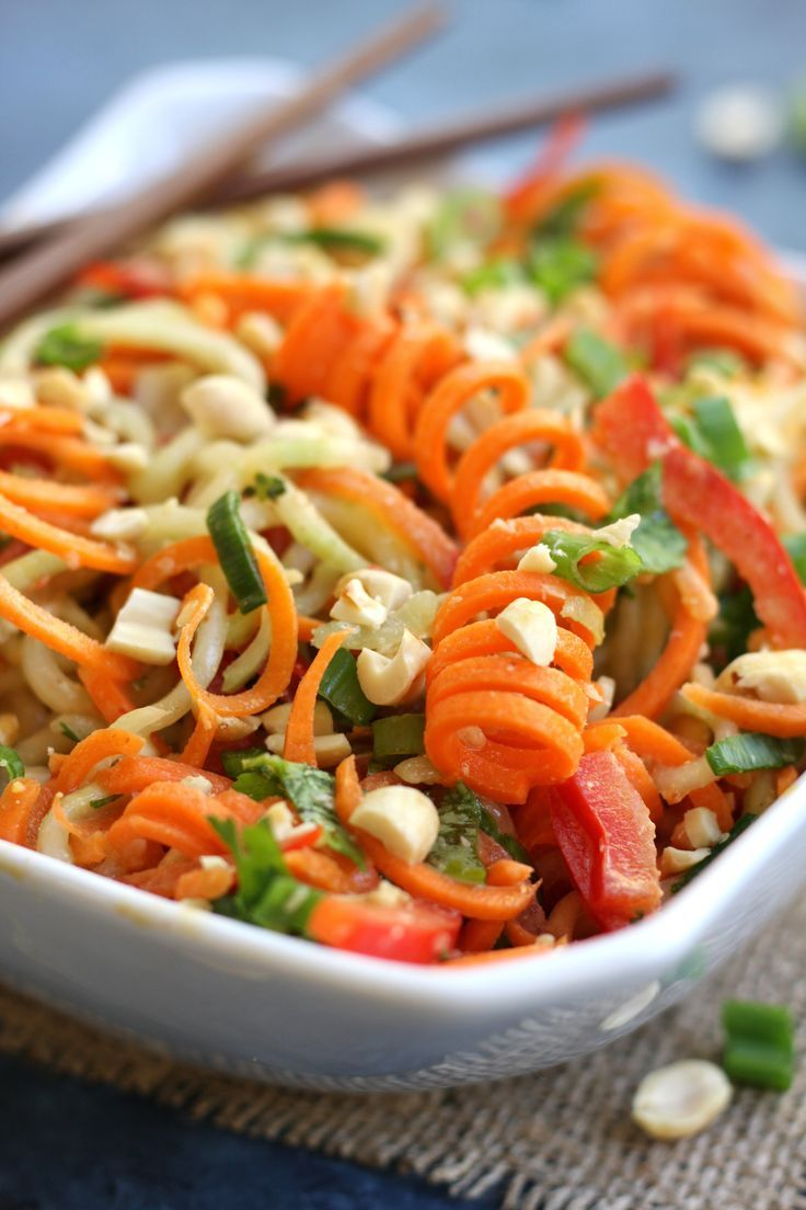 Incredibly healthy and delicious, Carrot Cucumber Asian Slaw recipe will satisfy your taste buds and hunger alike. Perfect as a light lunch or dinner with it's fresh, crunchy veggies and the creamy nuttiness of a sesame, peanut dressing. #FallFest http://www.thefedupfoodie.com