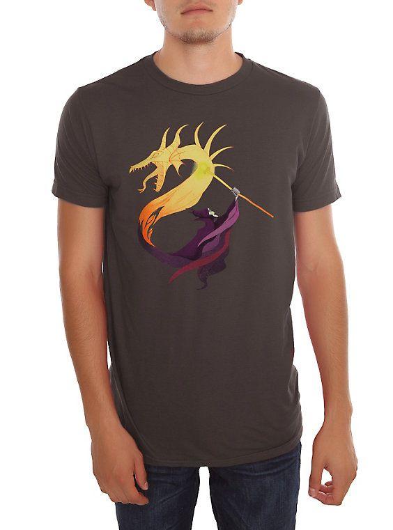 Disney Villains Queen Of Dragons T-Shirt,
