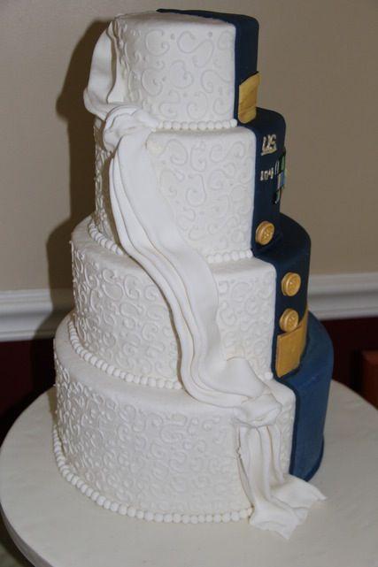 Army Wedding Cake Done By Kim Hagenbuch