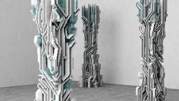 These Designers Invented A New Way To 3-D Print Concrete Architecture
