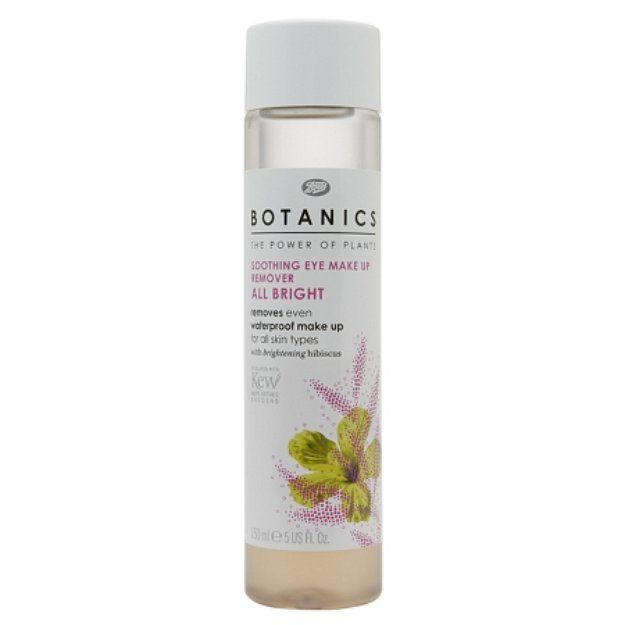 I'm learning all about Boots Botanics All Bright Soothing Eye Make-up Remover at @Influenster!