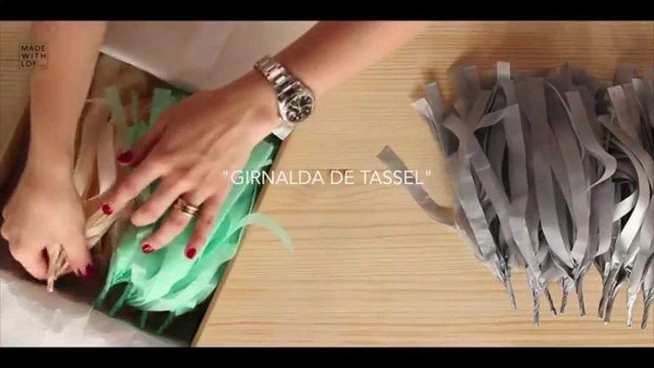 ¡Guirnaldas de tassel de Made with Lof! ¿Cómo montarla?