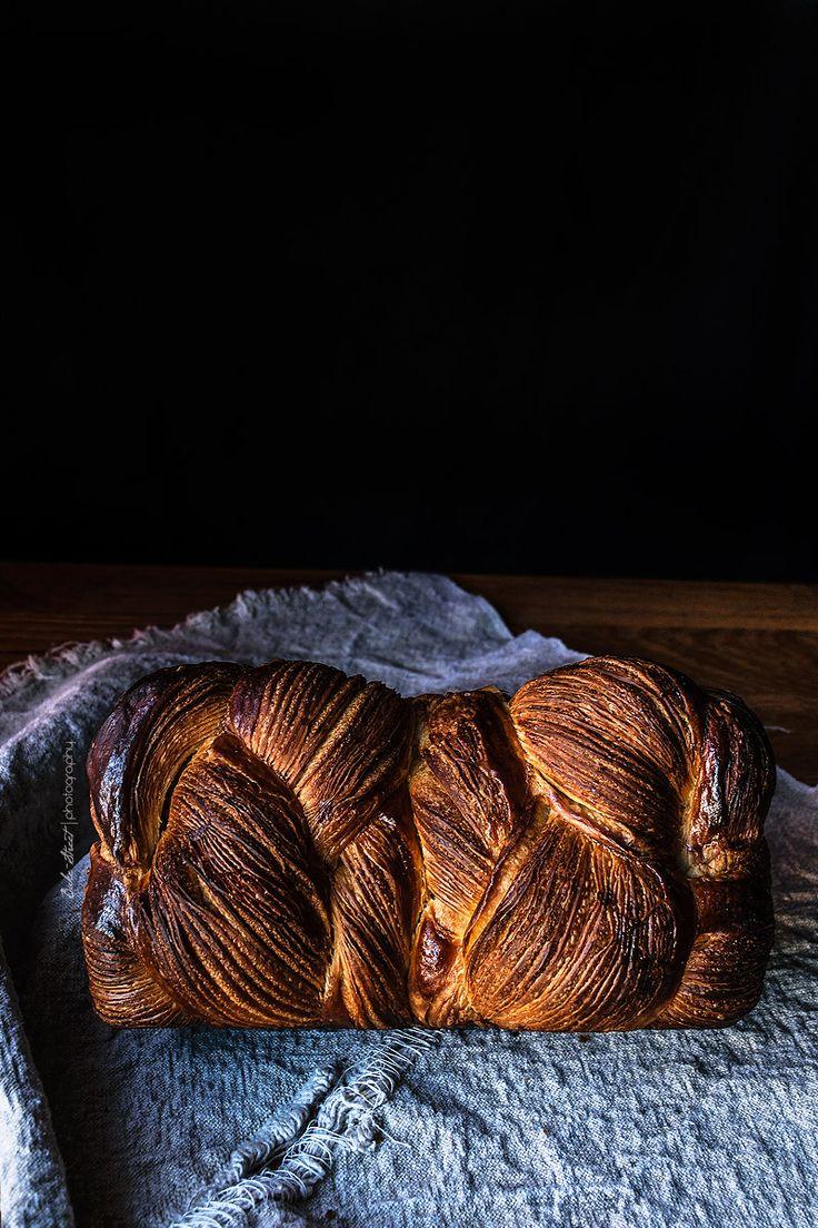 Pan de molde de masa danesa