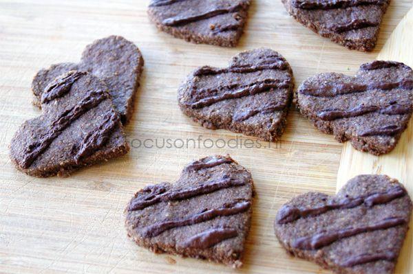 Glutenvrije Chocolade Koekjes voor Valentijn - Focus on Foodies