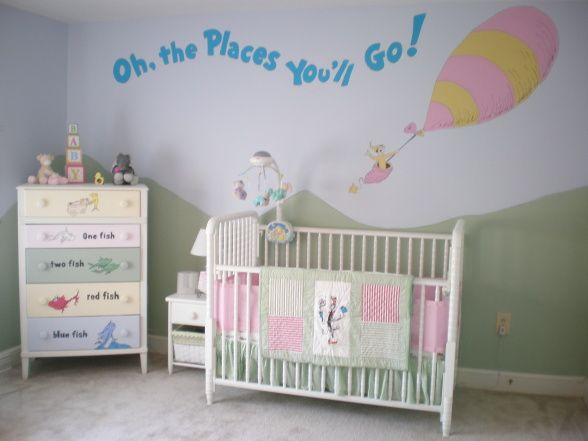 Dr. Seuss bedroom