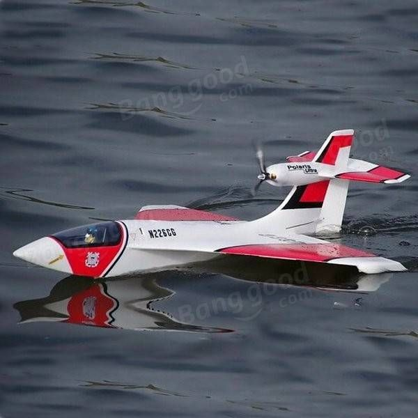 RC Lander EPO 864mm Wingspan Polaris RC Seaplane Airplane PNP Sale-Banggood.com