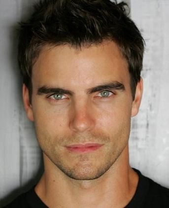 Collin Egglesfield needs to play Mr. Gray on the adaptation of Fifty Shades Of Gray. I had him in mind while I was reading the book. Hot and hot!