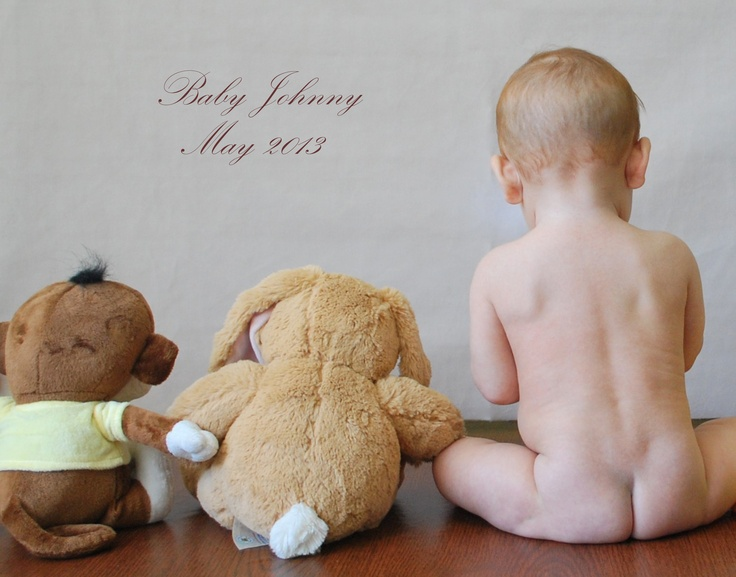 Baby Portraits/photo shoots, children 1 month to 1 year. Model is 6 month old Johnny