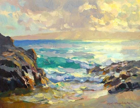 """Sunset at Secret Beach,"" Kevin MacPherson"